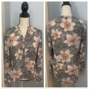 🌴Frenchi Floral Blouse🌴
